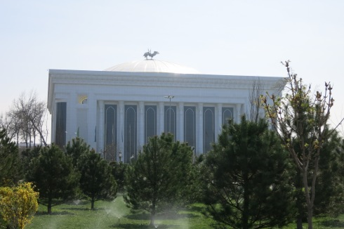 Tashkent's Palace of International Forums - GooGoosha's new home?