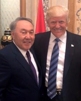 Nazarbayev Trump